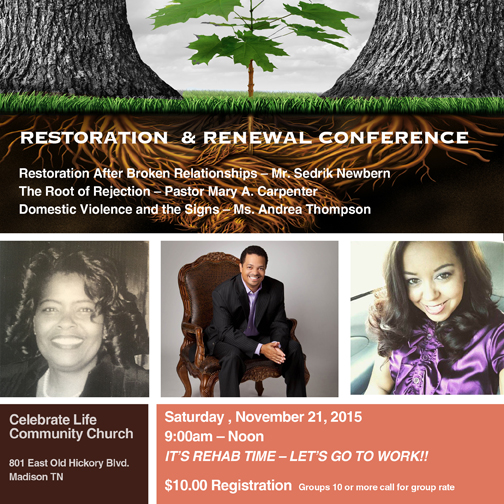 Restoration & Renewal Conference